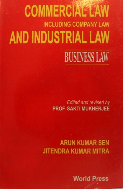 Commercial law including company law and industrial law business law -  BookShopBD com