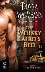 WLB 186x300 The Whisky Lairds Bed by Donna MacMeans