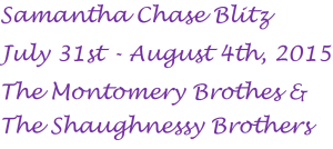 %name Samantha Chase Blitz Day 1: A double shot of Montgomery Men & #giveaway