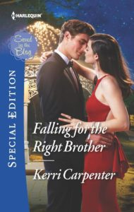 """Kerri Carpenter """"Falling for the Right Brother"""" book cover"""