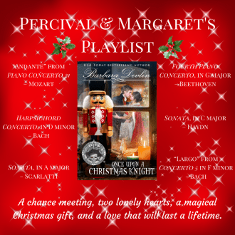 Percival and Margarets Playlist 1 300x300 The Nutcracker Reimagined Book Birthday  Day 3 Reviews and Giveaways