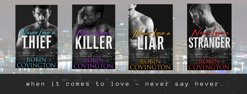 Series Cover Reveal for Never Love by Robin Covington