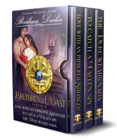 Happy Book Birthday Brethren of the Coast Volume III by USA Today Bestselling Author Barbara Devlin