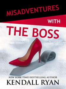 TheBoss front 2 223x300 Misadventures with the Boss by Kendall Ryan   Blog Tour