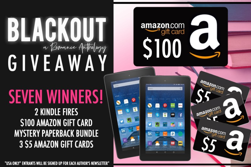 BlackoutGIVEAWAY1 800x533 Cover Reveal of Blackout: A Romance Anthology