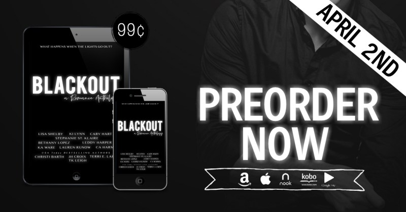 Blackout PreorderNow 1 800x419 Cover Reveal of Blackout: A Romance Anthology