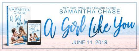 AGLY Banner compressed Cover Reveal: A Girl Like You by Samantha Chase