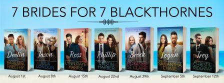 7BRIDES BANNERdates Cover Reveal: 7 Brides for 7 Blackthornes