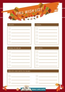 Fall Wish List 2019 V1 212x300 Authors Dish Thanksgiving with USA Today Bestselling Author Robin Covington