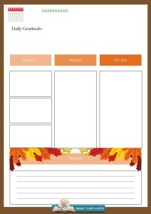 October Three Daily Printable V3 with Lifestyle options Final 2019 212x300 Authors Dish Thanksgiving with USA Today Bestselling Author Robin Covington