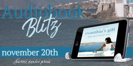 Audiobook Blitz FB Audiobook Blitz: Evanthias Gift by Effie Kammenou