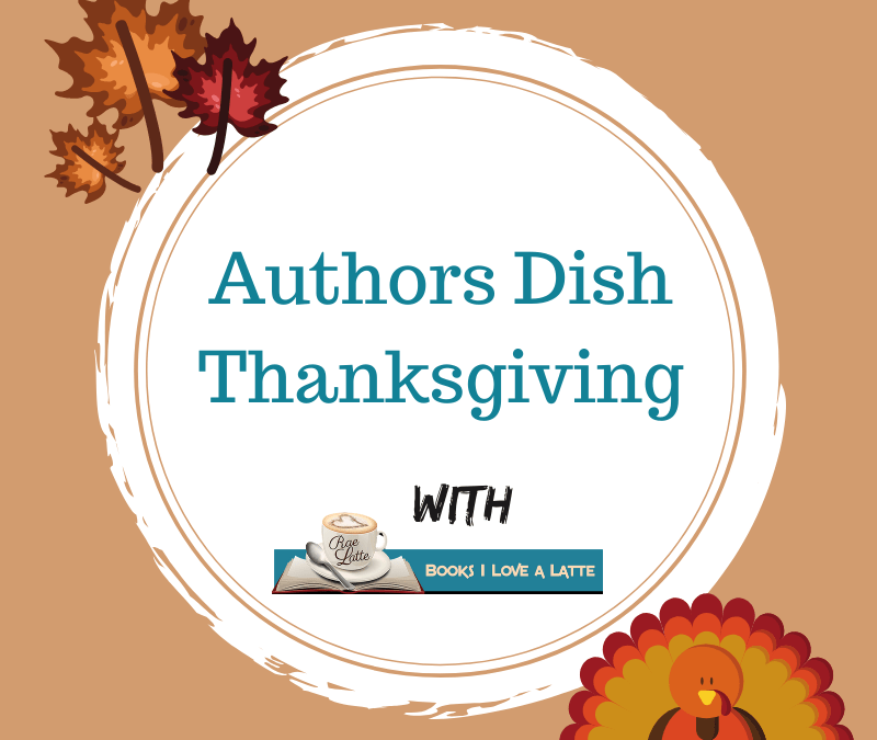 Authors Dish Thanksgiving with Delancey Stewart