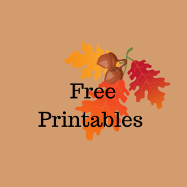 Free Printables 300x300 Authors Dish Thanksgiving with Delancey Stewart