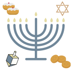 Hanukkah 300x300 Rededication by Lynne Silver from the soon to be released Chanukkah collection Eight Kisses