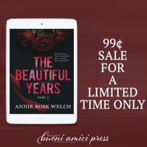 TBY SALE 1 300x300 Release Blitz The Beautiful Years Part V by Annie Rose Welch