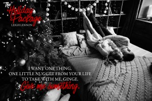 The Holiday Package TEASER 3 300x200 Release Blitz: The Complete Package by Leigh Lennon