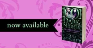 The Darkest Assassin by Gena Showalter available now  300x157 1001 Dark Nights: The Darkest Assasin by Gena Showalter