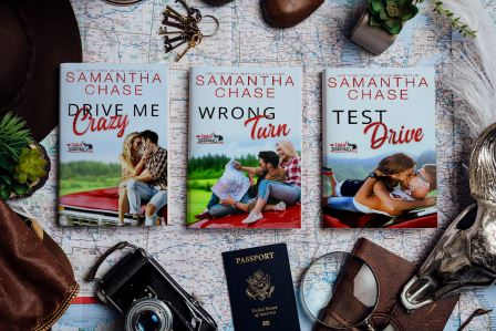 RoadTripping FlatLay 2 Test Drive by Samantha Chase