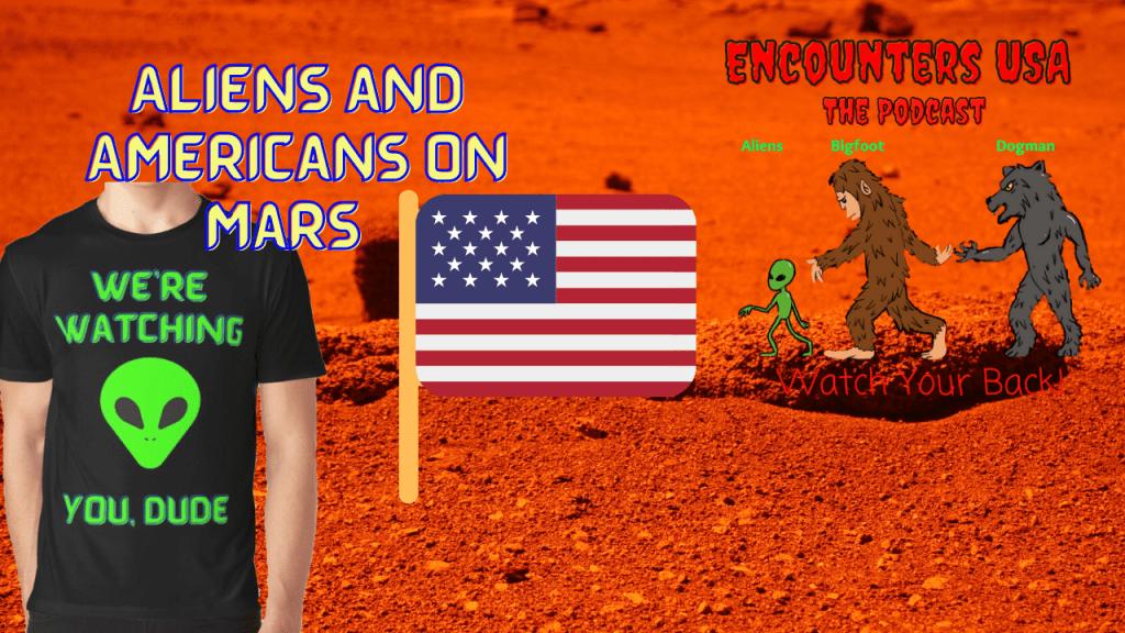 Secret Mars Base are Americans and Aliens Working Together?