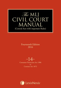 The MLJ Civil Court Manual