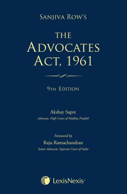 The Advocates Act, 1961, 2016