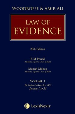 Woodroffe and Amir Ali's Law of Evidence (Set of 4 Volumes)