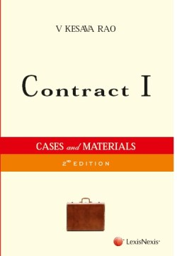 Contract I: Cases And Materials
