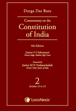 COMMENTARY ON THE Constitution of India ; Vol 2