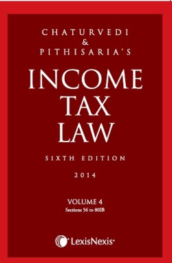 INCOME TAX LAW VOL. 4 (Sections 56 to 80IB)