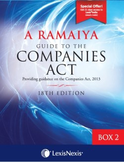 A Ramaiya Guide to the Companies Act - Box 2