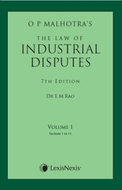 The Law of Industrial Disputes (Set of 2 Vols) 2015