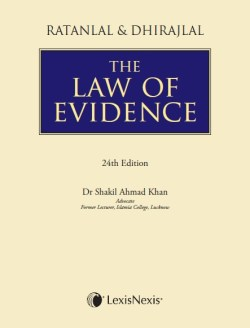 Ratanlal and Dhirajlal's The Law of Evidence, 2015