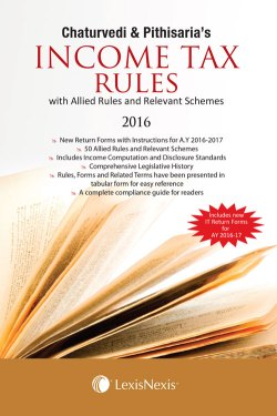 Income Tax Rules (with Allied Rules and Relevant Schemes)