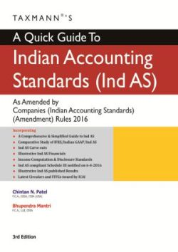 A Quick Guide To Indian Accounting Standards(Ind AS) As Amended by Companies (Indian Accounting Standards) (Amendment) Rules 2016