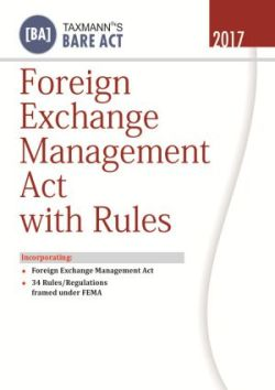 Foreign Exchange Management Act With Rules
