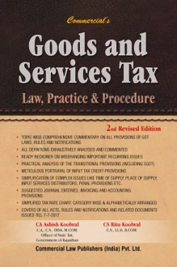 Goods And Services Tax Law Practice & Procedure