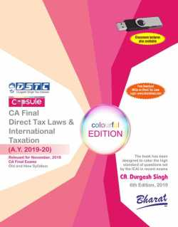 Capsule Studies on Direct Tax Laws & International Taxation (A.Y. 2019-20)