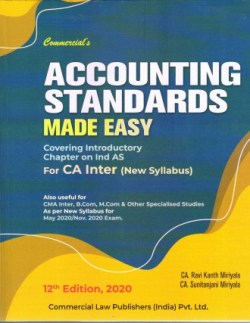 Accounting Standards Made Easy For CA Inter (New Syllabus)