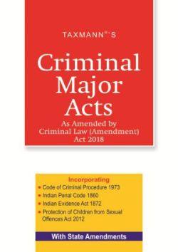Criminal Major Acts