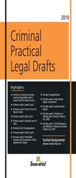 CRIMINAL PRACTICAL LEGAL DRAFTS