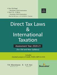 DIRECT TAX LAWS & INTERNATIONAL TAXATION