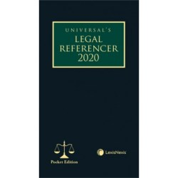 Legal Referencer 2020 (Pocket Edition)