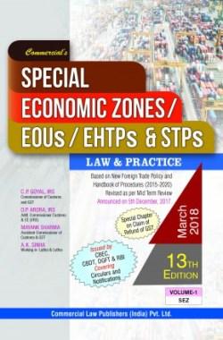 Special Economic Zones EOUs/EHTPs & STPs(Set Of 2Vols.)