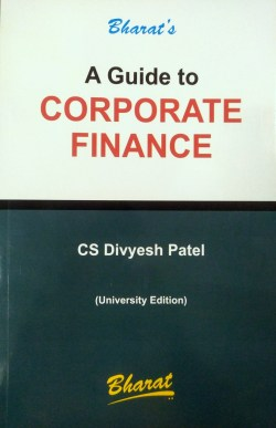 A Guide to CORPORATE FINANCE
