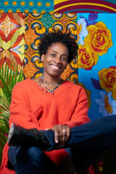 Jacqueline Woodson by Tiffany A. Bloomfield