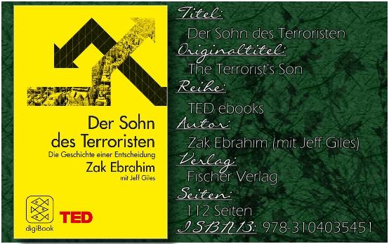 Der Sohn des Terroristen von Zed Ebrahim
