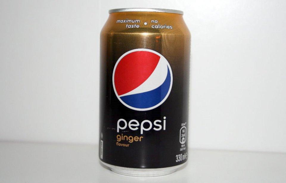 Pepsi Max Ginger