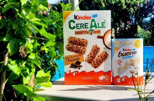 kinder cerealé und bueno kokos titelbild