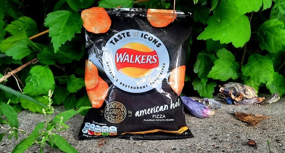 Walkers Taste Icons PizzaExpress American Hot Pizza