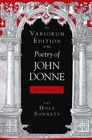 Holy Sonnets By John Donne Free At Loyal Books